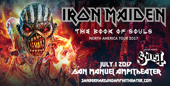 Iron Maiden & Ghost at San Manuel Amphitheater