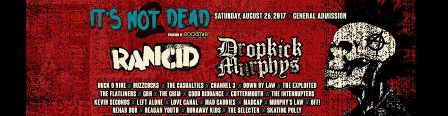 It's Not Dead Festival at San Manuel Amphitheater