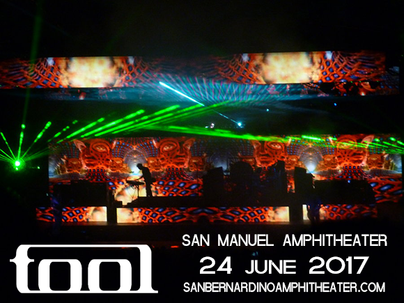 Tool at San Manuel Amphitheater