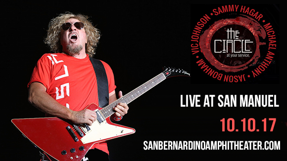 Sammy Hagar at San Manuel Amphitheater