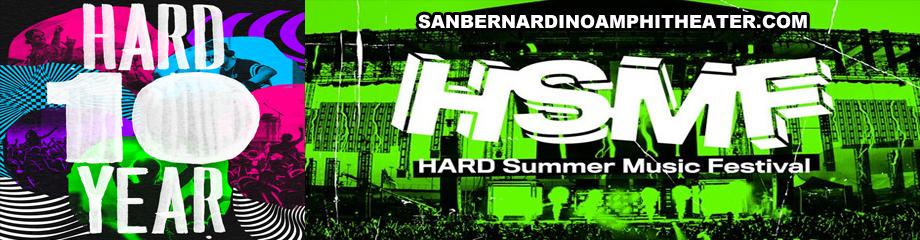 Hard Summer Music Festival - Saturday at San Manuel Amphitheater