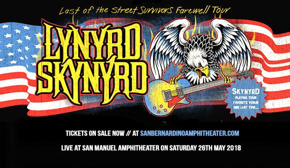 Lynyrd Skynyrd at San Manuel Amphitheater