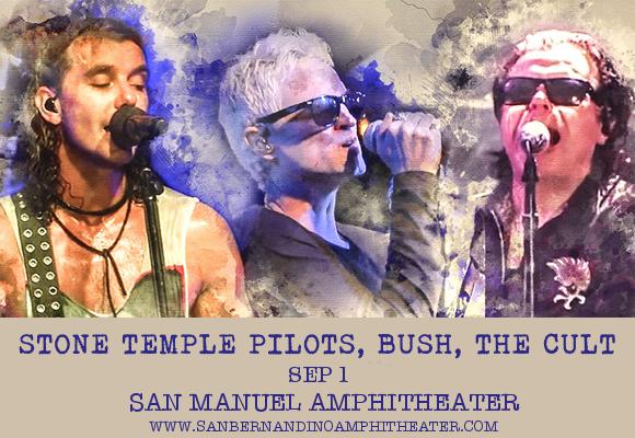 The Cult, Stone Temple Pilots & Bush at San Manuel Amphitheater