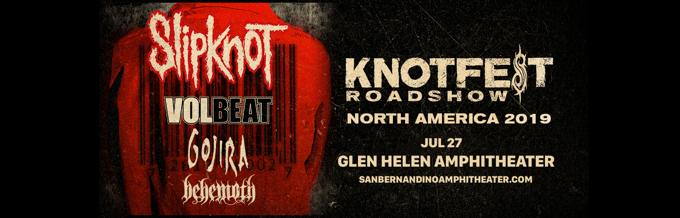 Slipknot, Volbeat, Gojira & Behemoth at Glen Helen Amphitheater