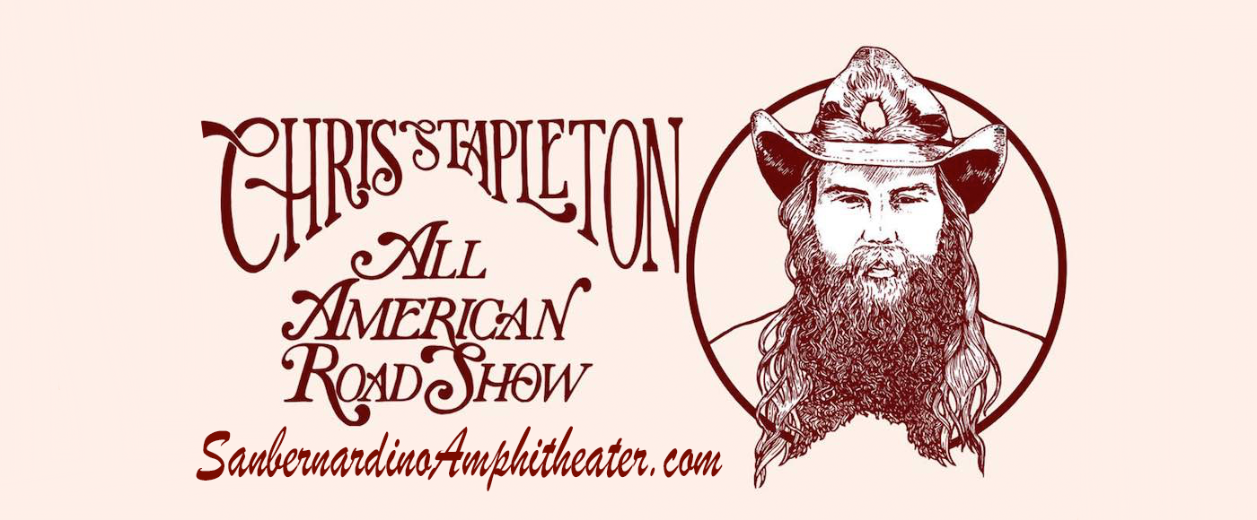 Chris Stapleton at Glen Helen Amphitheater
