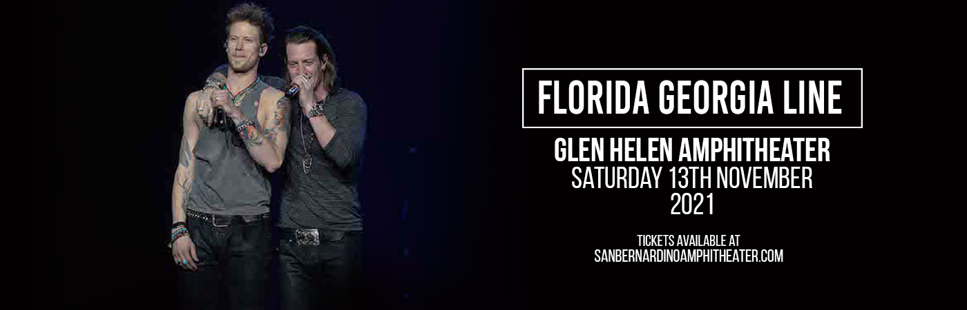Florida Georgia Line [CANCELLED] at Glen Helen Amphitheater